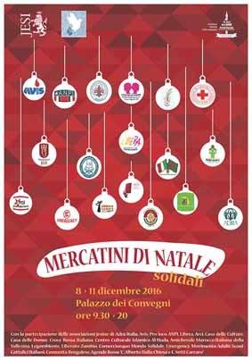 Mercatini di Natale solidali – Jesi 2016