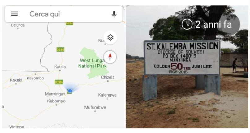 Missione di Kabompo di Suor Beatrice
